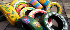 每年重庆废轮胎800万到1000万条 政协常委许沛提案:出台新制度鼓励.jpg