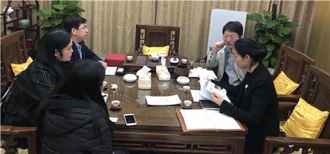 郑平副会长会见海峡两岸文化产业博览会(厦...