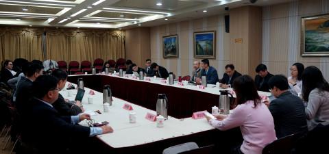 纪斌副会长会见中华青年发展联合2019北京智...