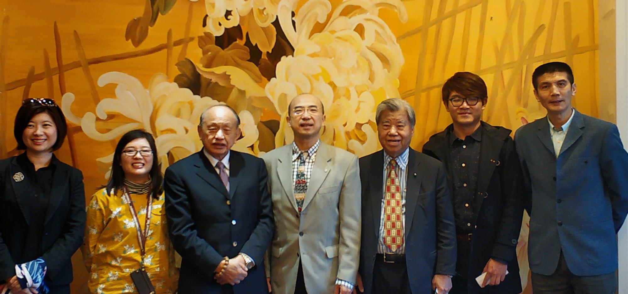 纪斌副会长会见台湾秀传医疗体系总裁黄明和一行