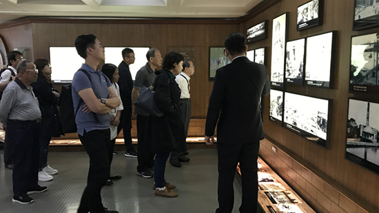 2019年全国台联台胞社团论坛座谈会嘉宾上海参访
