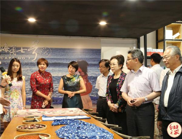 全国台联副会长杨毅周赴滇出席云台文创中心
